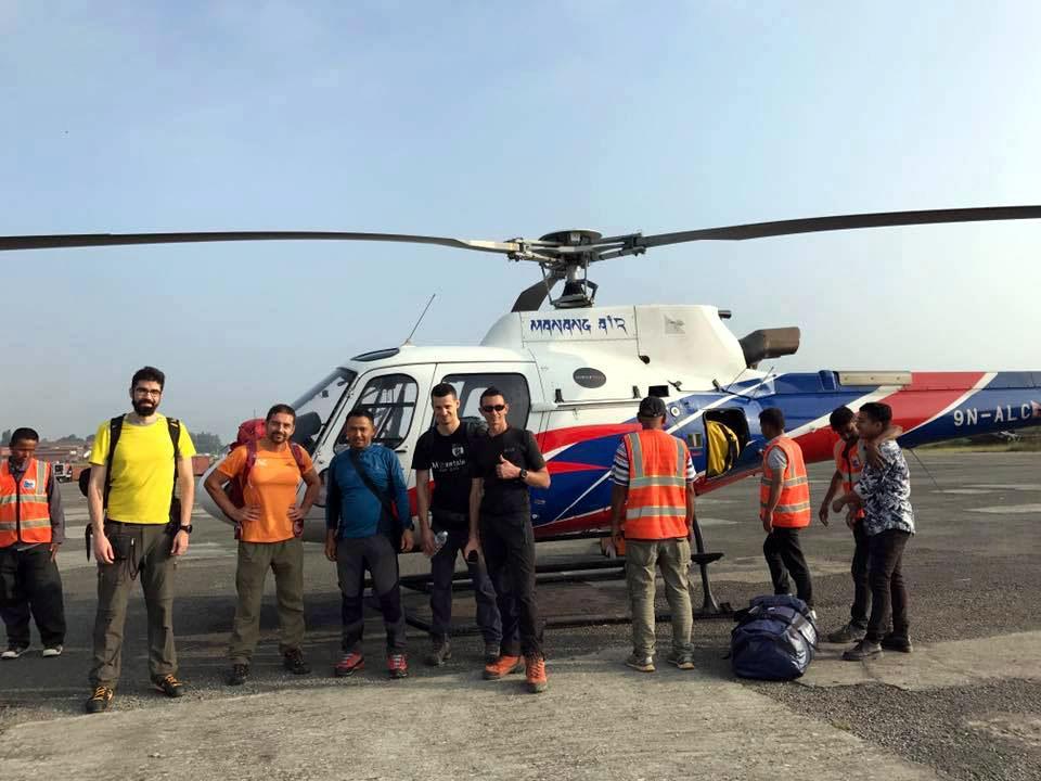Manaslu Expedition Team
