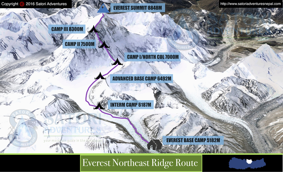 76everest northeast ridge