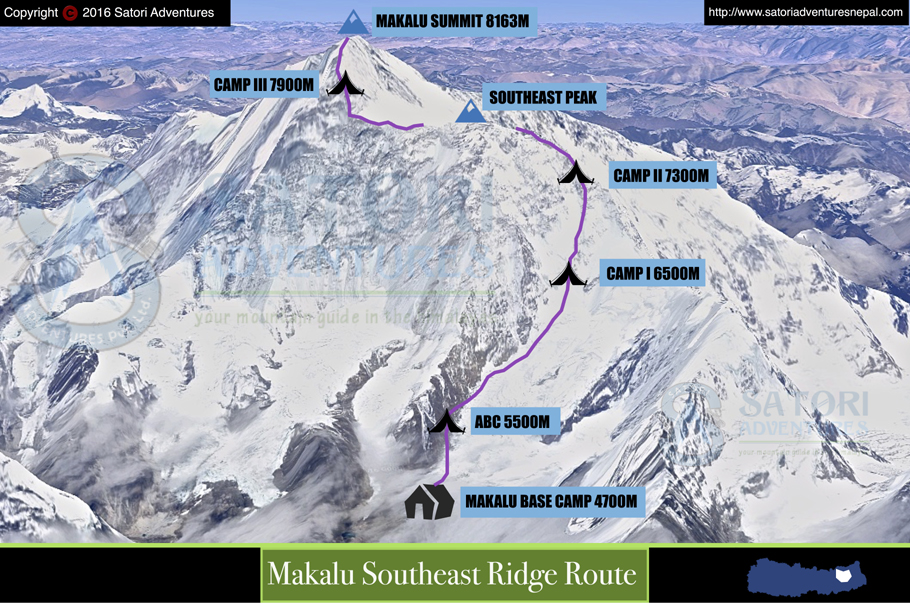 87makalu southeast ridge