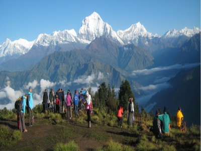 introduction to annapurna for family and friends tour73