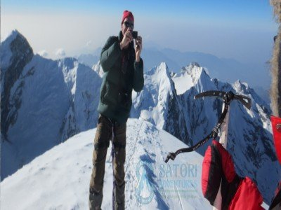 Photo taken at Mera peak summit