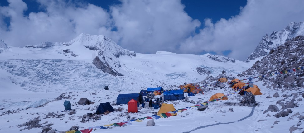 Satori Cho-Oyu Advance base camp