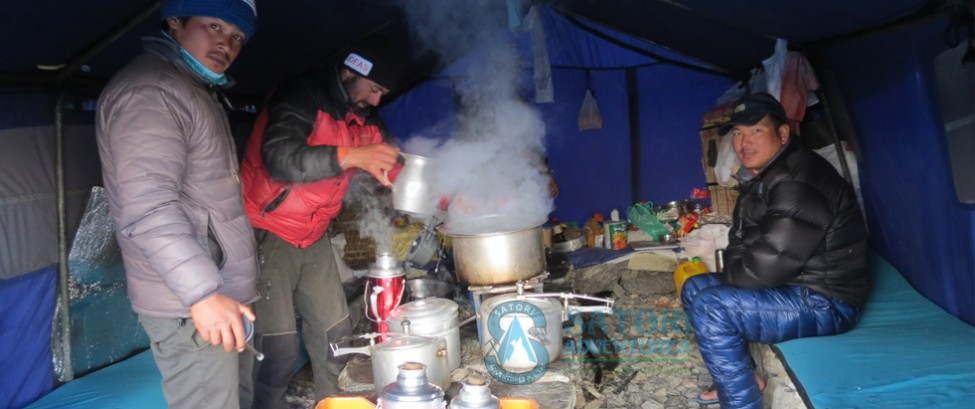Satori Kitchen at North Everest Base camp