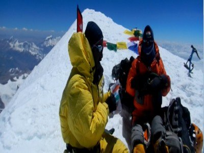 Satori Group at Kanchenjunga Summit