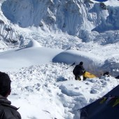 Baruntse base camp photo