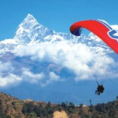 mountain flight jungle safari pokhara tour with paragliding89