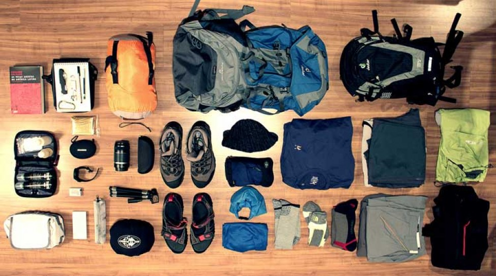 Trekking equipment list of trekking gears for Travel expedition gear